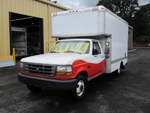 1997 used 14 foot uhaul box truck for sale great for small business for sale in portland oregon. Black Bedroom Furniture Sets. Home Design Ideas