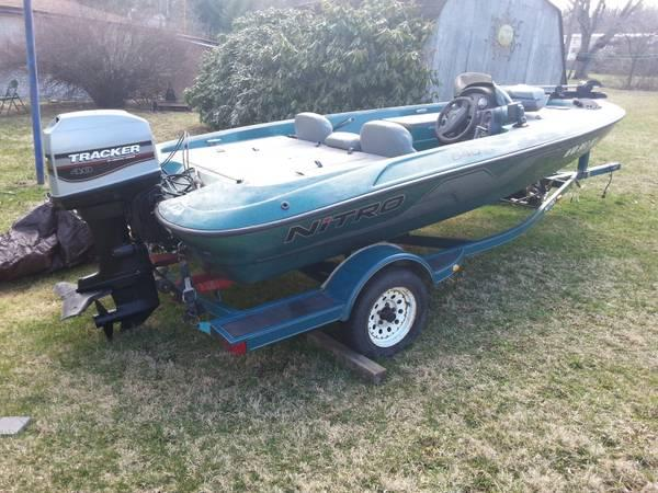 1998 17 foot tracker bass boat for sale in dublin for Tracker outboard motor parts