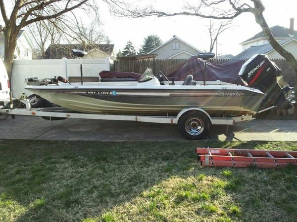 1998 191 champion bass boat for sale in ancora new