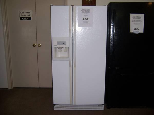 1998 22 Cu  Ft  Kenmore S  S Refrigerator