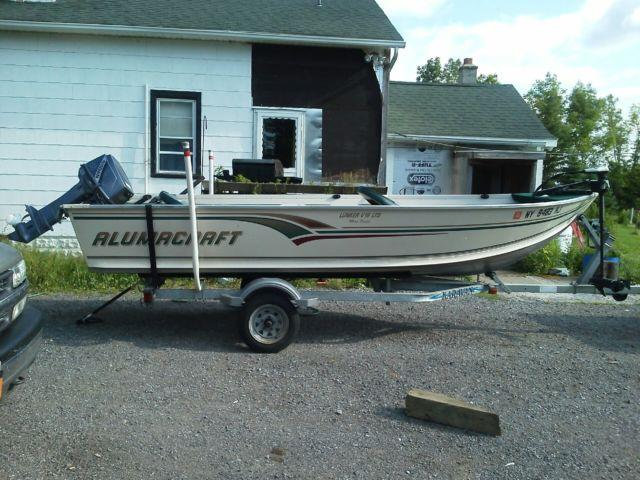 1998 Alumicraft 16 39 Deep V Fishing Boat For Sale In East