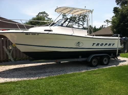 1998 Bayliner Trophy - 27 ft - Cuddy WA with Trailer (Repowered)