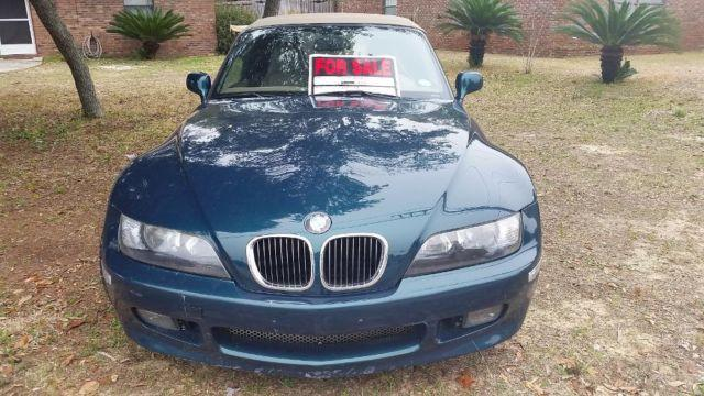 1998 bmw z3 sports car green for sale in fort walton beach florida classified. Black Bedroom Furniture Sets. Home Design Ideas