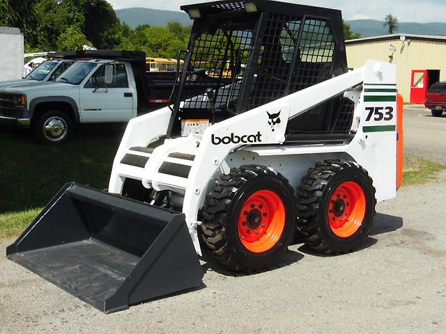 1998 Bobcat 753 Skid Steer Loader For Sale In Pearisburg