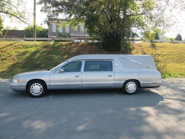 1998 cadillac deville hearse 26k miles for sale in. Black Bedroom Furniture Sets. Home Design Ideas