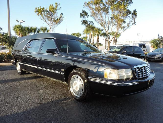 1998 cadillac deville hearse for sale in fort lauderdale. Black Bedroom Furniture Sets. Home Design Ideas