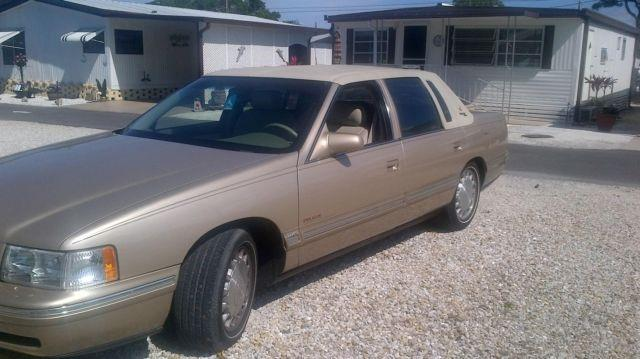 1998 cadillac deville v8 north star beige auto 37k mi. Black Bedroom Furniture Sets. Home Design Ideas