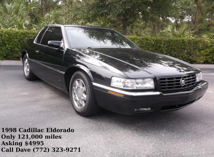1998 cadillac eldorado touring coupe 2d for sale in fort. Black Bedroom Furniture Sets. Home Design Ideas