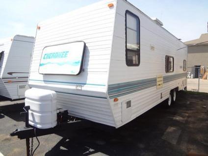 1998 cherokee cherokee travel trailer for sale in newark ohio classified. Black Bedroom Furniture Sets. Home Design Ideas