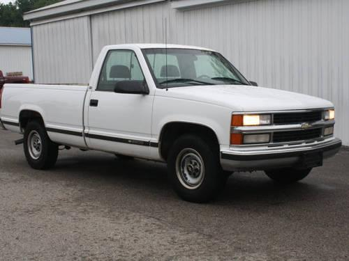 1998 chevrolet c k 2500 series pickup truck c2500 cheyenne for sale in new era michigan. Black Bedroom Furniture Sets. Home Design Ideas