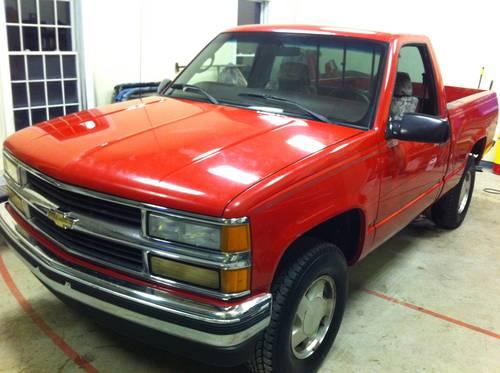 1998 Chevrolet Silverado Z71 Regular Cab Short Wide Bed