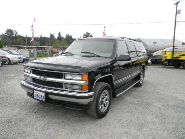 1998 chevrolet suburban k1500 for sale in bothell washington classified. Black Bedroom Furniture Sets. Home Design Ideas