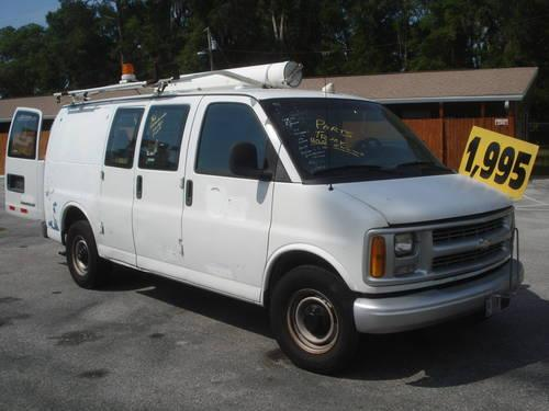 1998 Chevy 3500 Series Van  With 7000 Watt Kohler Gen  Set