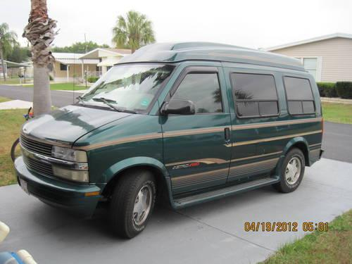 1998 chevy astro gladiator conversion van for sale for sale in winter haven florida classified. Black Bedroom Furniture Sets. Home Design Ideas