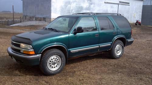 1998 Chevy S10 Blazer 4x4 For Sale In Stewart Minnesota Classified