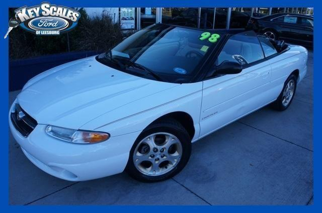 1998 chrysler sebring convertible jxi for sale in leesburg florida classified. Black Bedroom Furniture Sets. Home Design Ideas