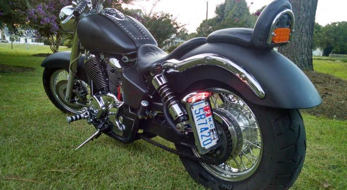 1998 Custom Honda Shadow 750 Ace For Sale In Kennebec North