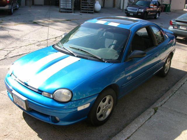 1998 dodge neon r t intense blue 2 door coupe 2 4 swap for. Black Bedroom Furniture Sets. Home Design Ideas