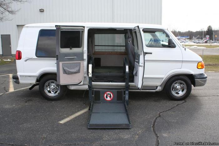 1998 dodge ram 1500 wheelchair accessible van for sale in. Black Bedroom Furniture Sets. Home Design Ideas
