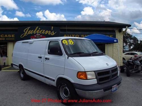 1998 dodge ram van minivan van 1500 for sale in new port. Black Bedroom Furniture Sets. Home Design Ideas