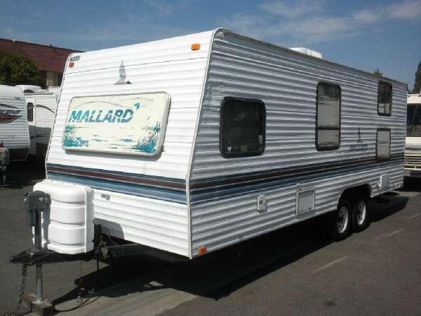 Mallard Travel Trailer >> 1998 Fleetwood Mallard 25A Bunk Bed's for Sale in Stanton, California Classified ...