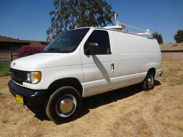 1998 ford 98 39 ford e 250 cargo van for sale in northridge california classified. Black Bedroom Furniture Sets. Home Design Ideas