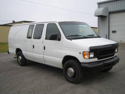 1998 ford e250 extended commerical cargo van make offer for sale in fort wayne. Black Bedroom Furniture Sets. Home Design Ideas