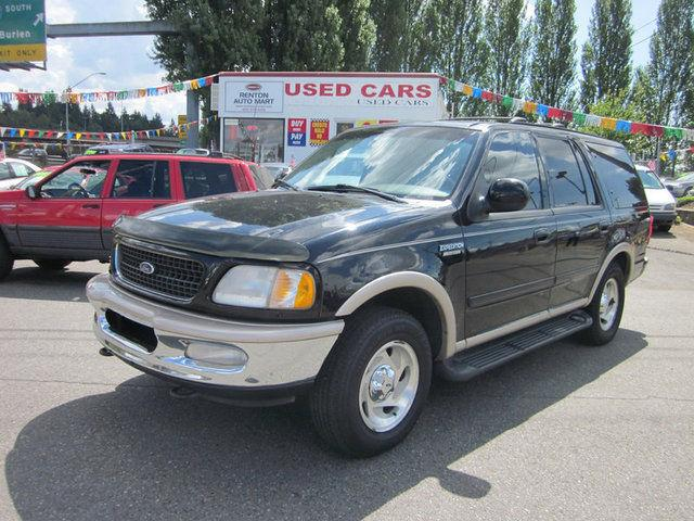 1998 ford expedition eddie bauer for sale in renton washington classified. Black Bedroom Furniture Sets. Home Design Ideas