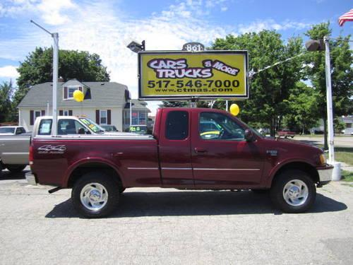 1998 ford f 150 fx4 xlt super cab well maintained. Black Bedroom Furniture Sets. Home Design Ideas
