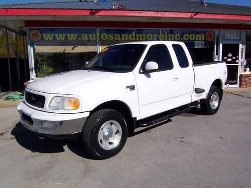 1998 ford f150 xlt 4x4 super cab flareside truck for sale. Black Bedroom Furniture Sets. Home Design Ideas