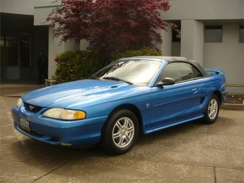 1998 ford mustang coupe 2dr convertible for sale in albany. Black Bedroom Furniture Sets. Home Design Ideas