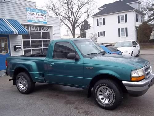 1998 ford ranger xlt reg cab flareside 2wd green 4cyl 5spd 142k for sale in baresville. Black Bedroom Furniture Sets. Home Design Ideas