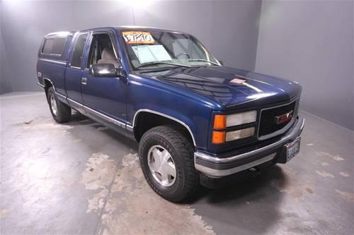 Used Cars Olympia Wa >> 1998 GMC Sierra 1500 Truck SLE Sportside for Sale in ...
