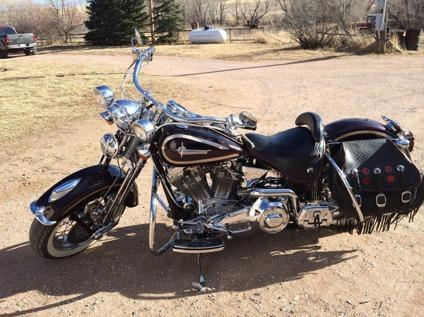 1998 Harley Davidson Heritage Springer 1340 Flsts Custom
