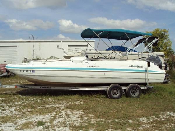 1998 Hurricane Fundeck 232 For Sale In Nokomis Florida
