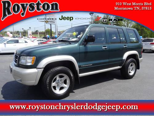 1998 isuzu trooper s green 3rd row seat 125k mi for. Black Bedroom Furniture Sets. Home Design Ideas