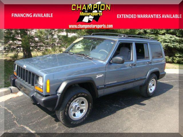 1998 jeep cherokee sport 4wd for sale in crestwood illinois. Cars Review. Best American Auto & Cars Review
