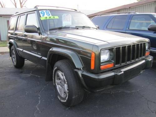 1998 jeep cherokee sport 4x4 cash special for sale in howell michigan classified. Black Bedroom Furniture Sets. Home Design Ideas