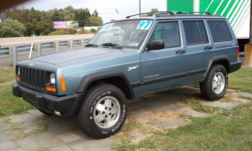 1998 jeep cherokee sport utility sport 4x4 for sale in bermudian. Cars Review. Best American Auto & Cars Review
