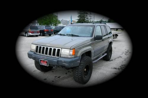 1998 Jeep Grand Cherokee Lifted 35 Quot Tires For Sale In