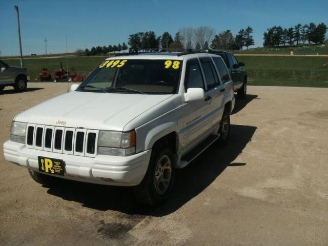 1998 jeep grand cherokee limited for sale in central city iowa classified. Black Bedroom Furniture Sets. Home Design Ideas