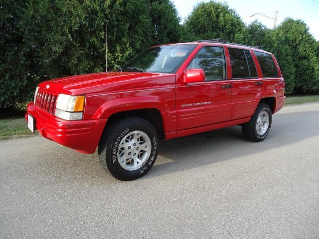 1998 jeep grand cherokee limited for sale in cedar rapids iowa classified. Black Bedroom Furniture Sets. Home Design Ideas