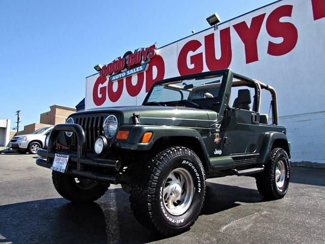 1998 jeep wrangler 4x4 sahara military discount e z financing down for sale in san diego. Black Bedroom Furniture Sets. Home Design Ideas