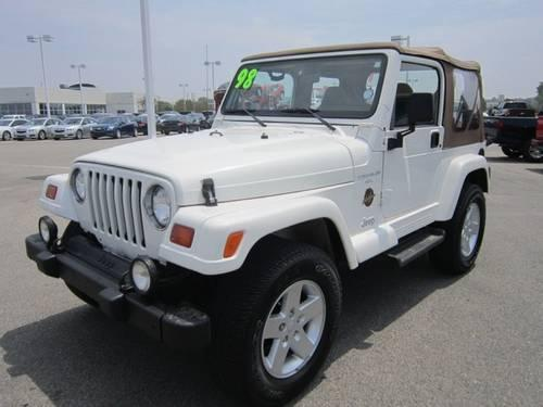 1998 jeep wrangler sahara 4wd stick suv for sale in cartersburg indiana classified. Black Bedroom Furniture Sets. Home Design Ideas