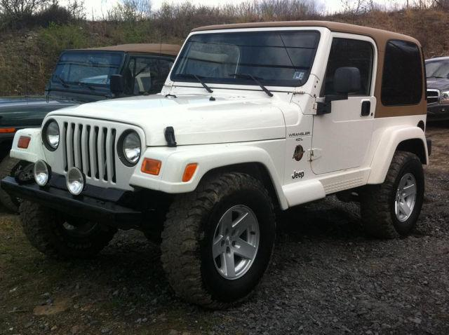 1998 jeep wrangler sahara for sale in plains township pennsylvania classified. Black Bedroom Furniture Sets. Home Design Ideas