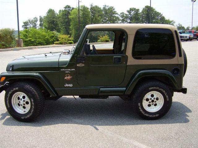 1998 jeep wrangler sahara for sale in gray georgia classified. Black Bedroom Furniture Sets. Home Design Ideas