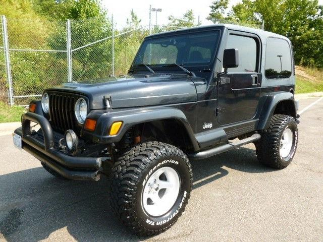 1998 Jeep Wrangler Sahara 1998 Jeep Wrangler Sahara Car