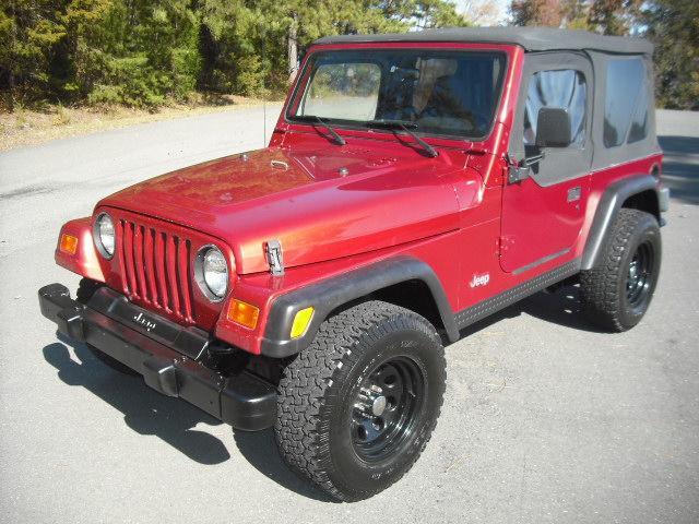 1998 jeep wrangler se for sale in fort lawn south carolina classified. Black Bedroom Furniture Sets. Home Design Ideas