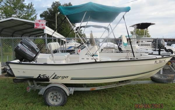 1998 Key Largo 156 Center Console - for Sale in ...
