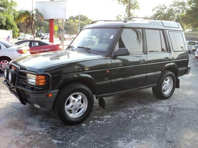 1998 land rover discovery for sale in largo florida classified. Black Bedroom Furniture Sets. Home Design Ideas